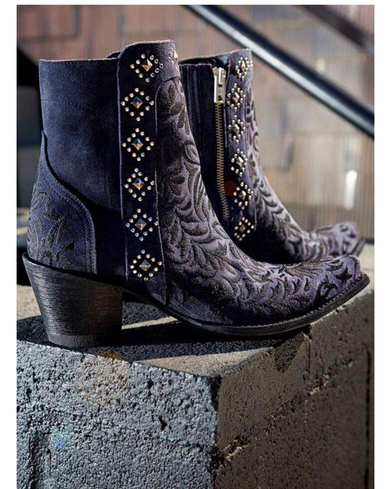 Old Gringo Women's Wink Dark Blue Booties - Snip Toe , Blue, hi-res