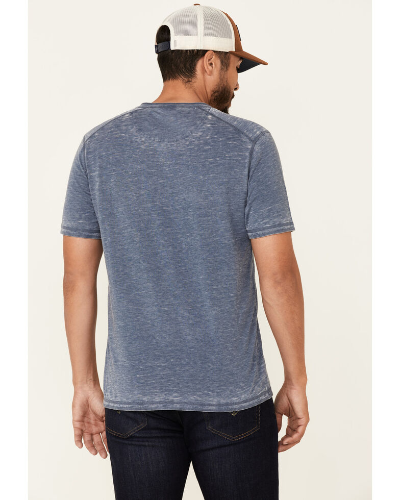 Flag & Anthem Men's Springdale Bo Henley Short Sleeve T-Shirt , Navy, hi-res