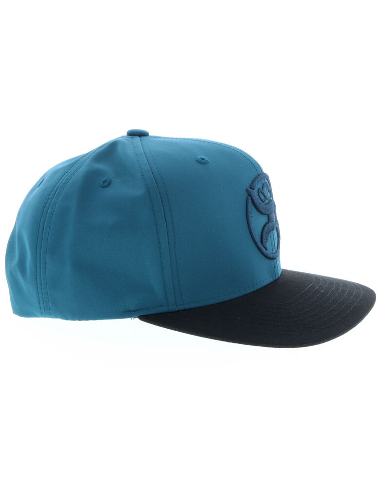 HOOey Men's Teal Roughy Logo Cap, Teal, hi-res