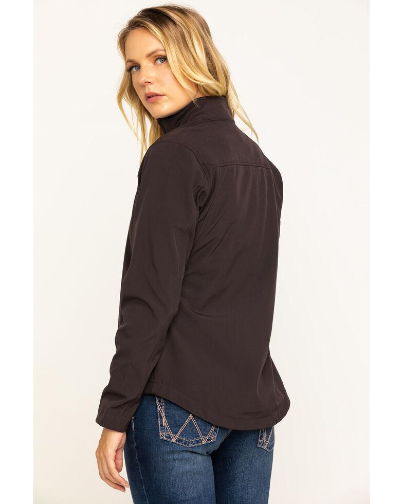 Ariat Women's Coffee Brown Exclusive Team Softshell Jacket , Brown, hi-res