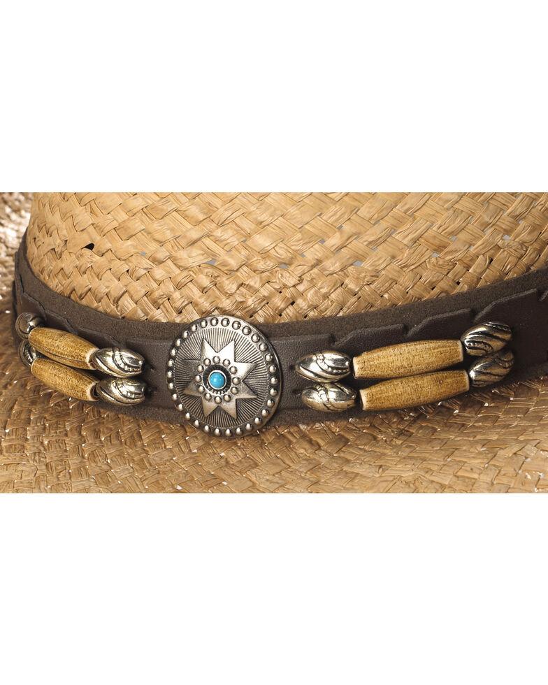 Cody James Contraband Straw Cowboy Hat, Brown, hi-res