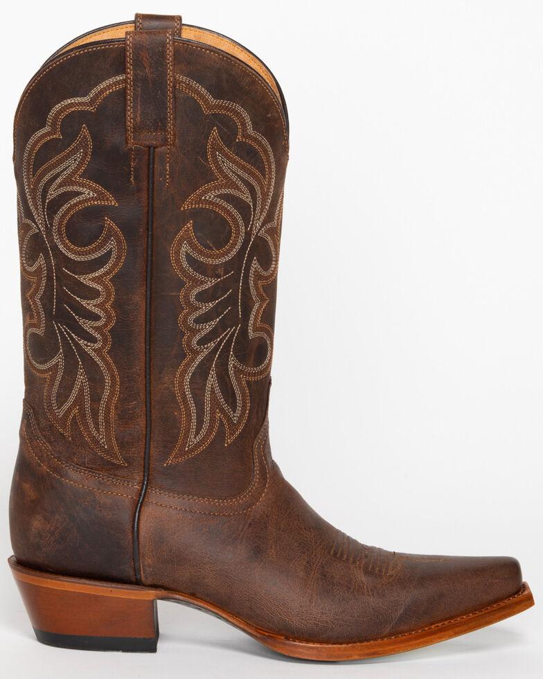 Shyanne Women's San Juan Mad Dog Western Boots - Snip Toe, Tan, hi-res