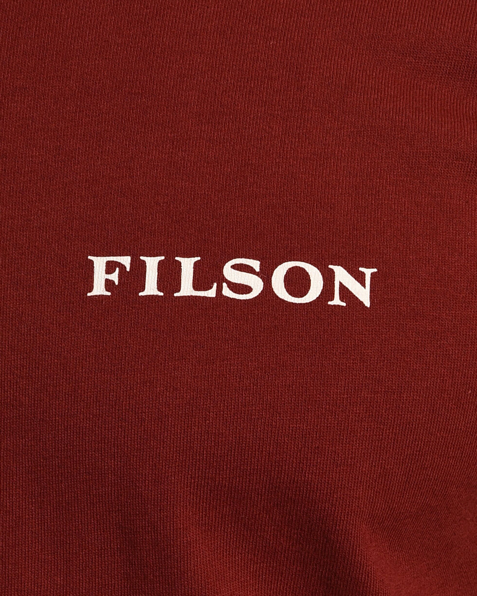 Filson Men's Outfitter Graphic T-Shirt , Wine, hi-res