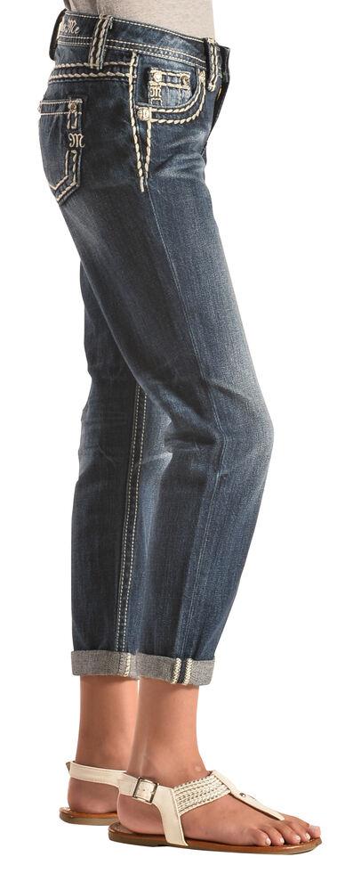 Miss Me Girls' Revolt Boyfriend Ankle Jeans, , hi-res