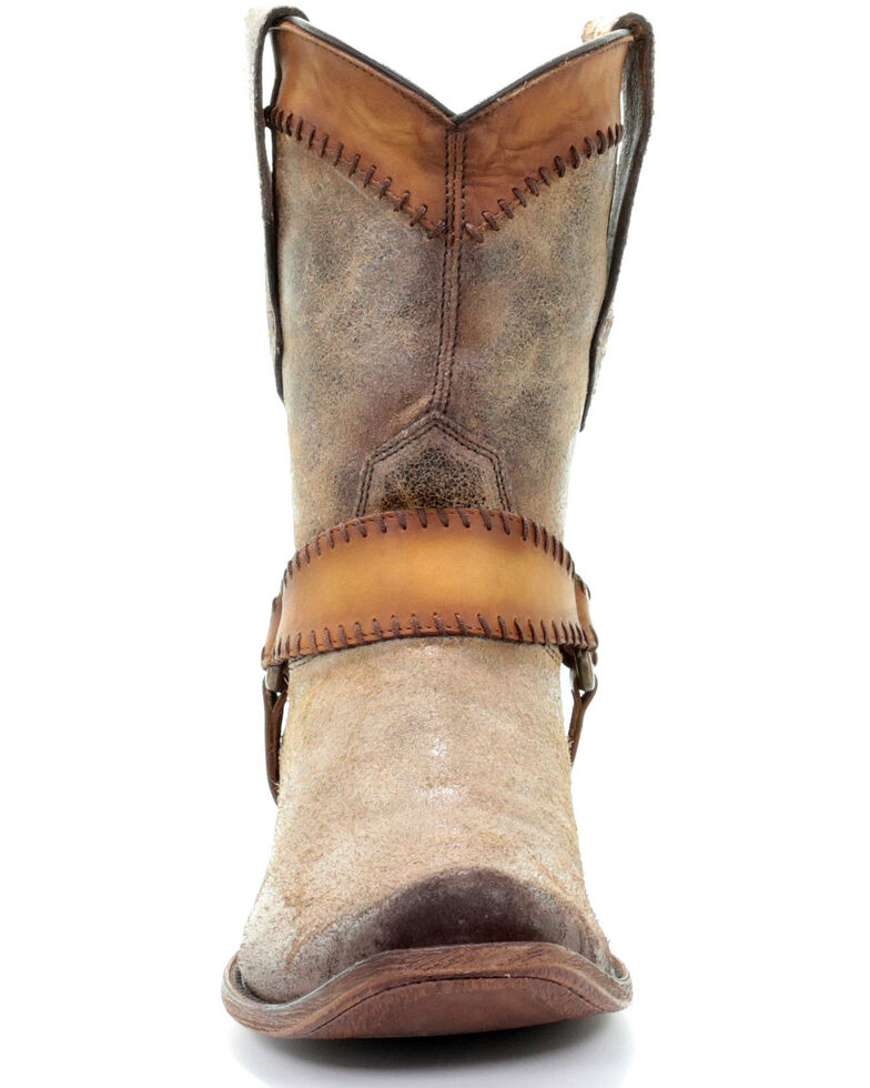 Corral Men's Sand Harness Western Boots - Square Toe, Sand, hi-res