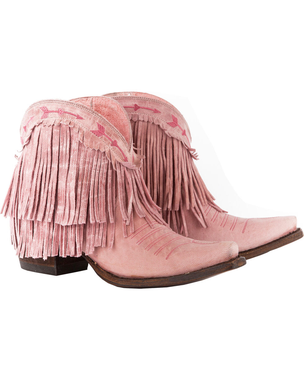 Junk Gypsy by Lane Women's Spitfire Booties - Snip Toe , Light Pink, hi-res