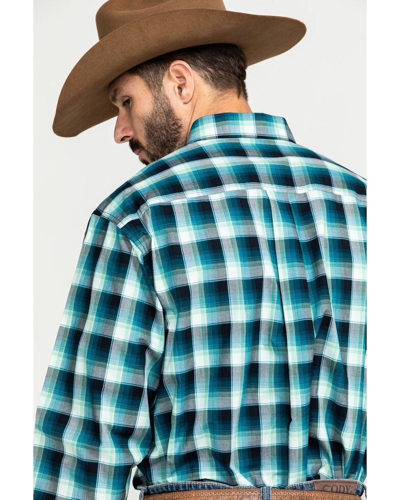 Cinch Men's Multi Large Plaid Button Long Sleeve Western Shirt - Big , Multi, hi-res