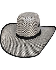 c4f00a9224e19 Bullhide Men s Shades of Black 50X Straw Cowboy Hat