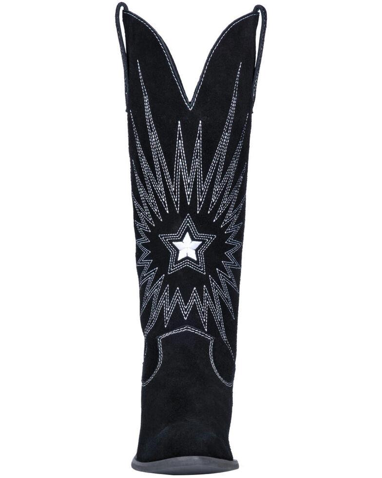 Dingo Women's Star Is Born Western Boots - Round Toe, Black, hi-res