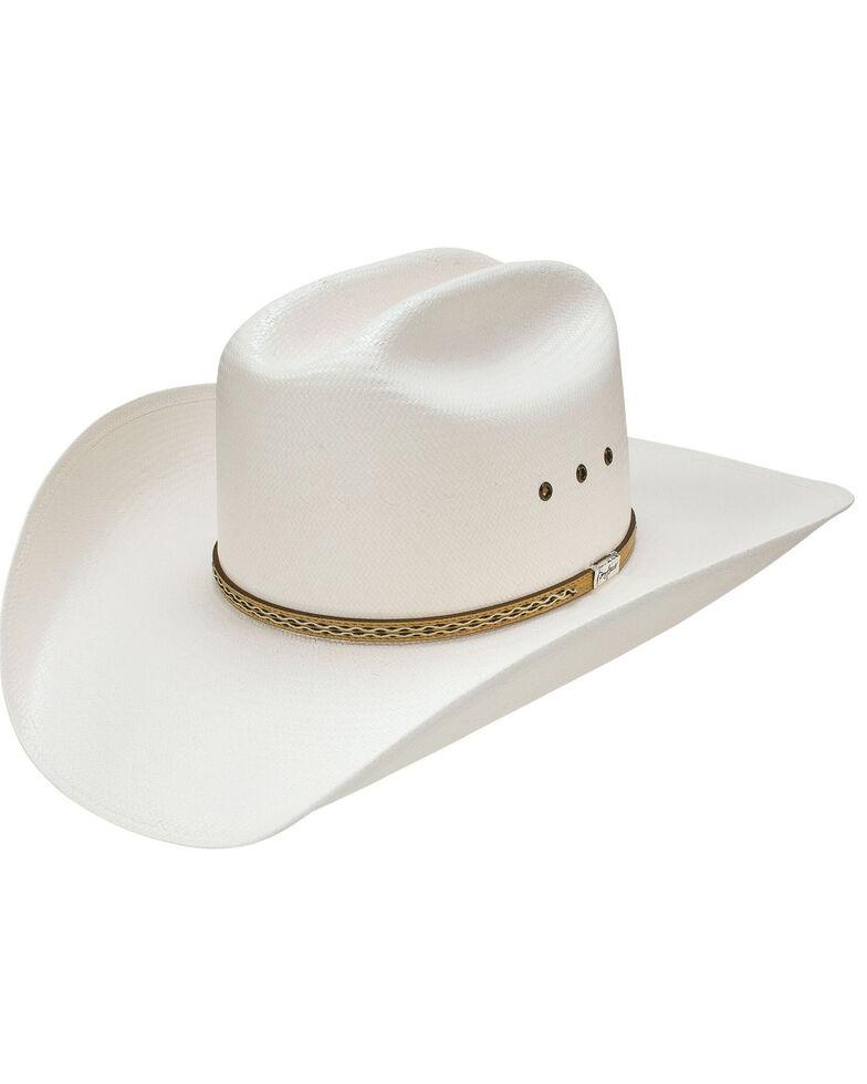 Resistol Men's 10X Brixton Western Straw Hat , Natural, hi-res