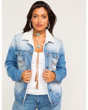 Idyllwind Women's Denim Western Blues Jacket, Blue, hi-res