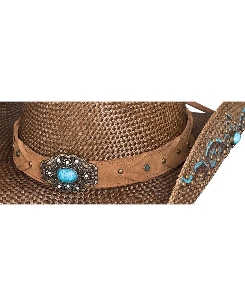 Bullhide Amnesia Straw Cowgirl Hat, Brown, hi-res