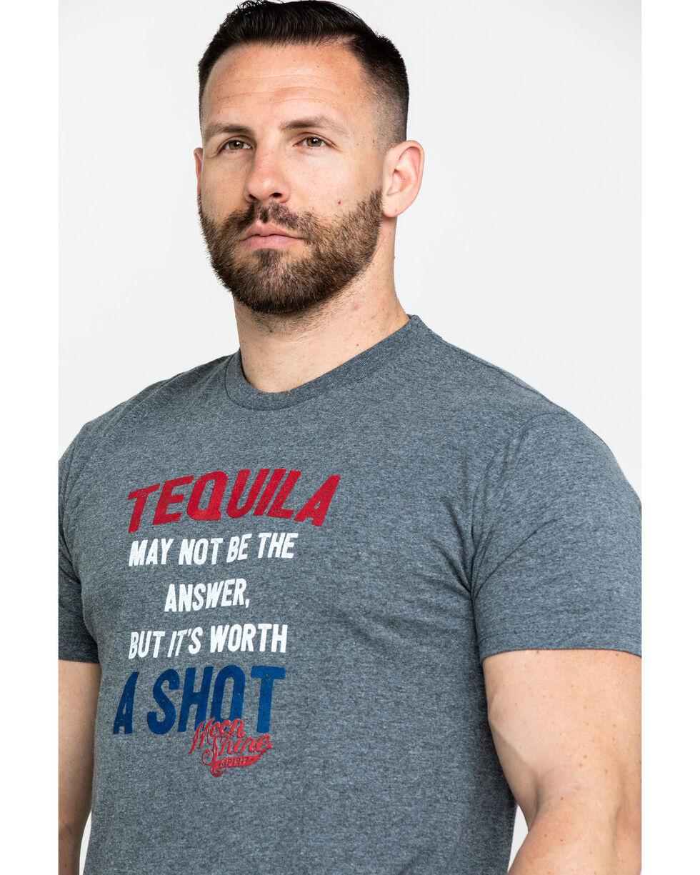 Moonshine Spirit Men's Tequila Graphic T-Shirt , Grey, hi-res