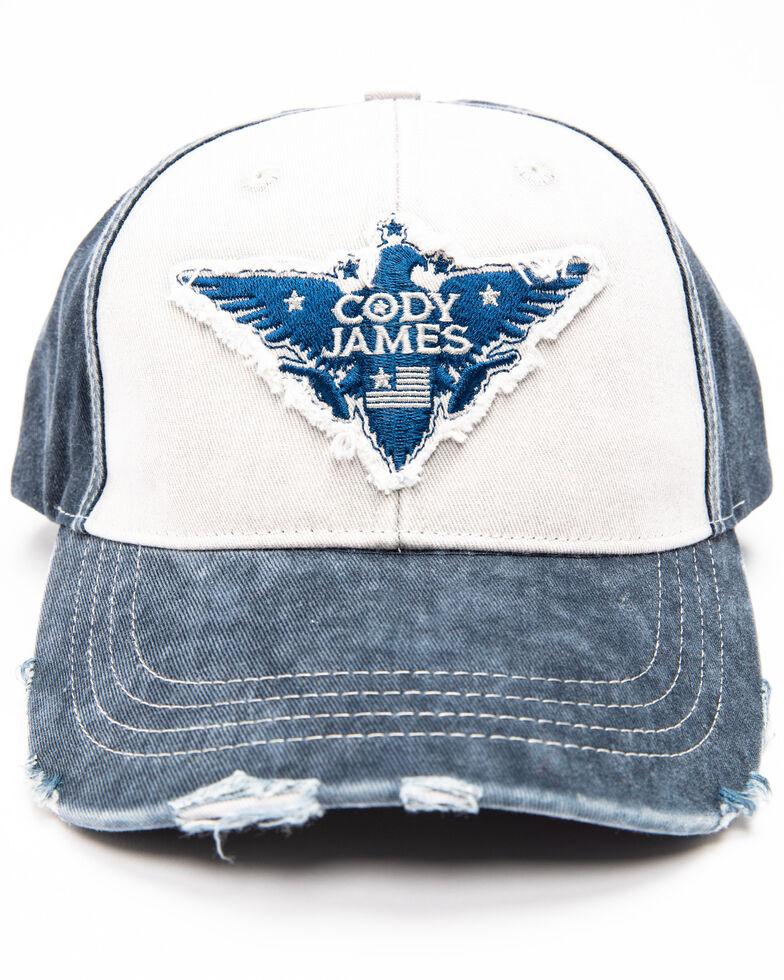 Cody James Men's Freedom Eagle Patch Cap , Grey, hi-res