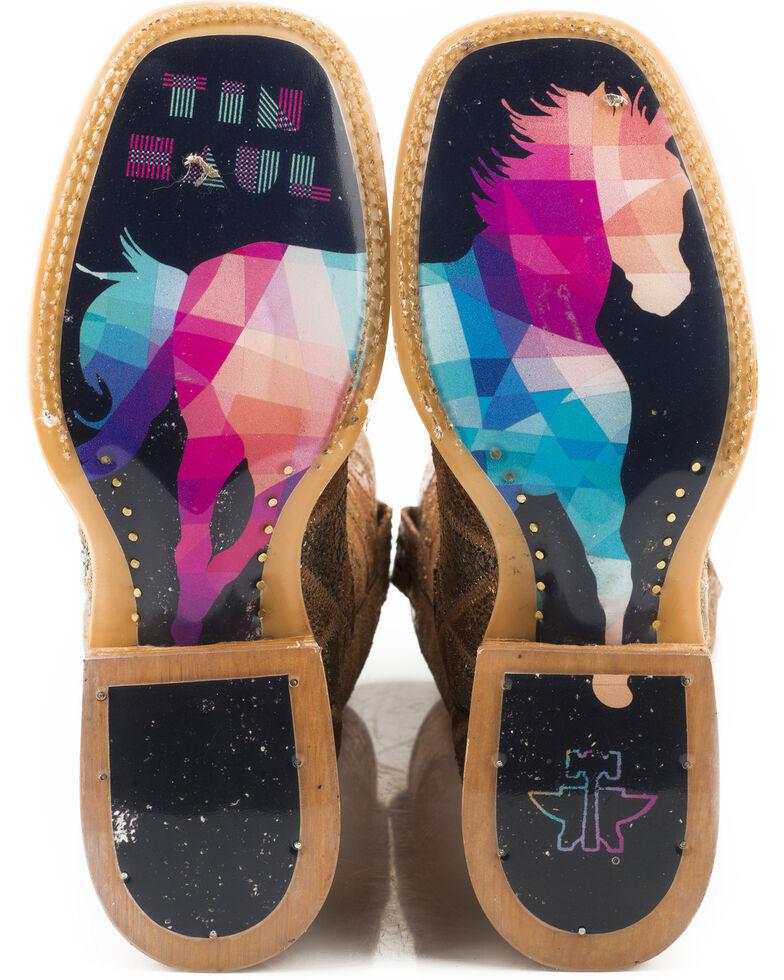 Tin Haul Women's Mish & Mash Geometric Steed Cowgirl Boots - Square Toe, Multi, hi-res