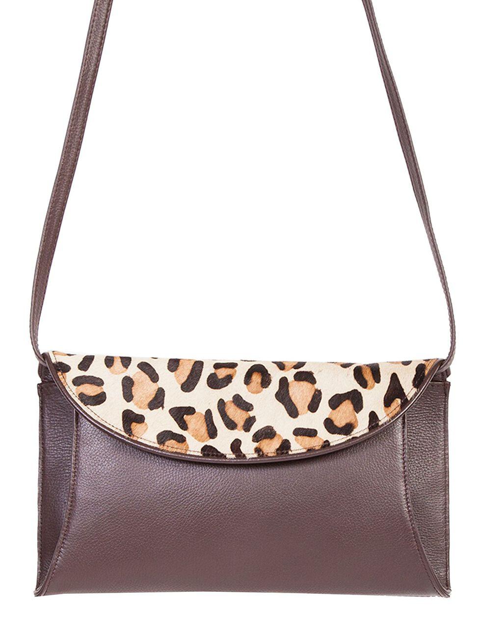 Scully Pebble Leather Shoulder Bag, Brown, hi-res