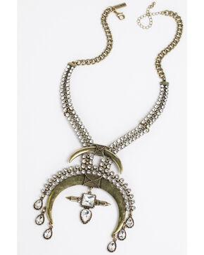 Idyllwind Women's Rhinestone Cowboy Necklace - Large, Gold, hi-res