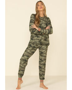 PJ Salvage Women's In Command Jogger Pants, Camouflage, hi-res