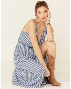 Elan Women's Rae Maxi Dress, Blue, hi-res