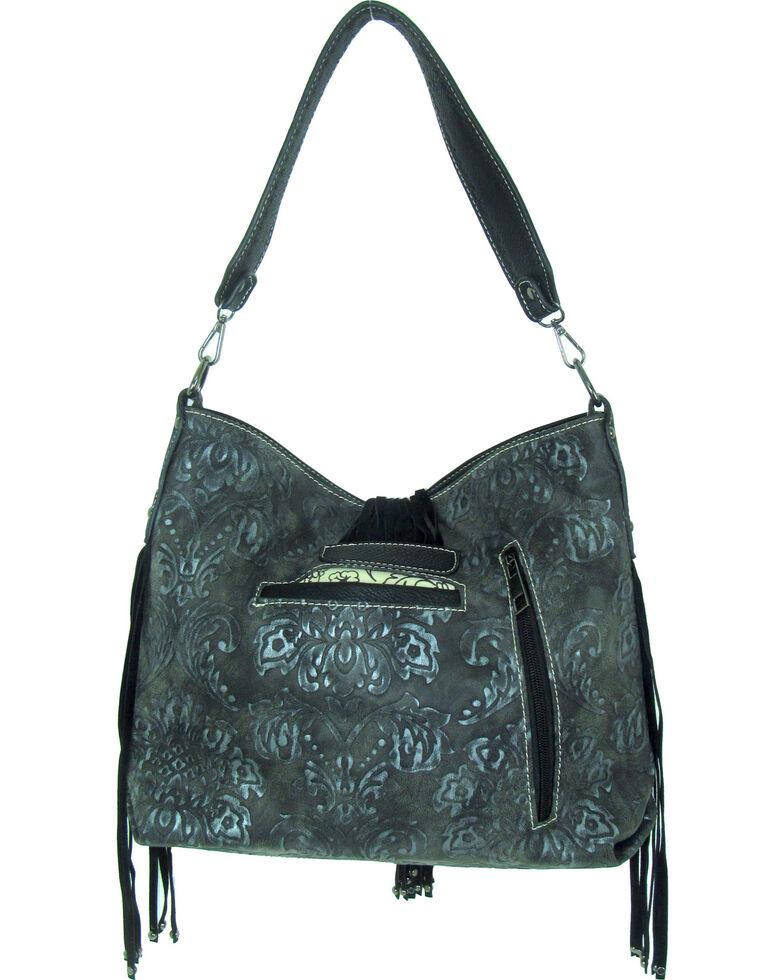 Savana Women's Tooled Concealed Carry Handbag *DISCONTINUED*, , hi-res