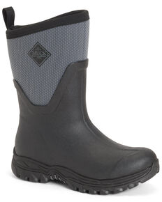 Muck Boots Women's Arctic Sport II Rubber Boots - Round Toe, Black, hi-res