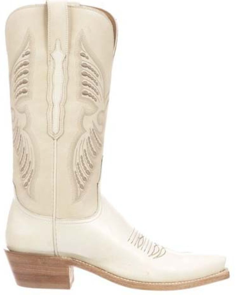 Lucchese Women's Evangeline Western Boots - Snip Toe, Wheat, hi-res