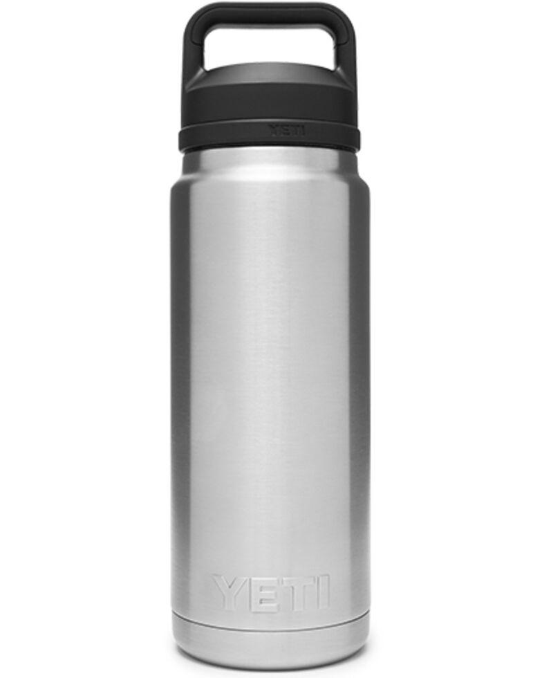 Yeti Rambler 26oz Stainless Steel Chug Bottle, Steel, hi-res