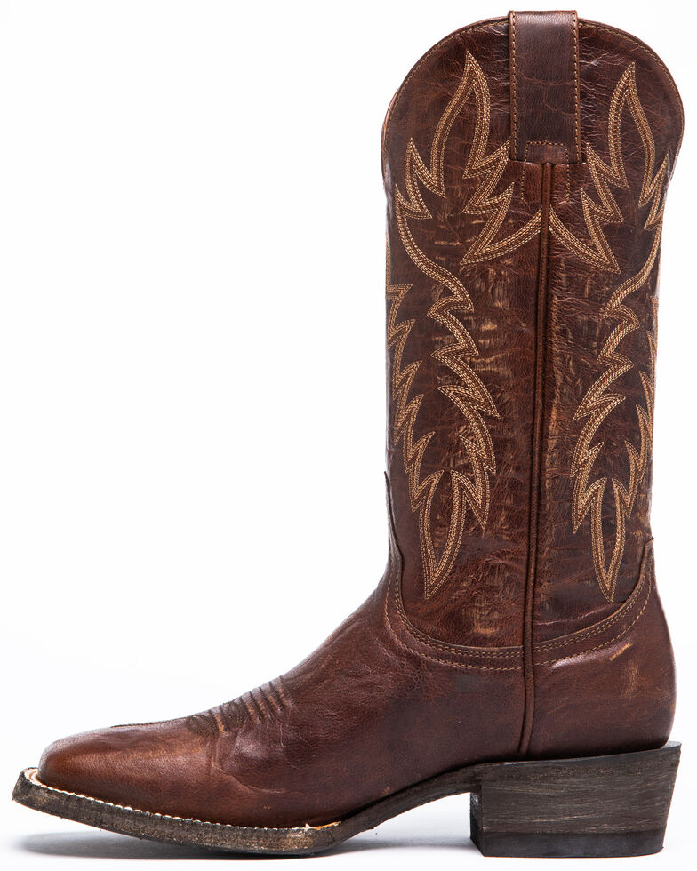 Idyllwind Women's Wildwheel Western Boots - Wide Square Toe, Brown, hi-res