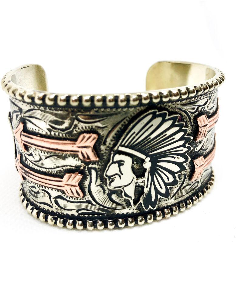Tres Rios Women's Chief Cuff, Silver, hi-res