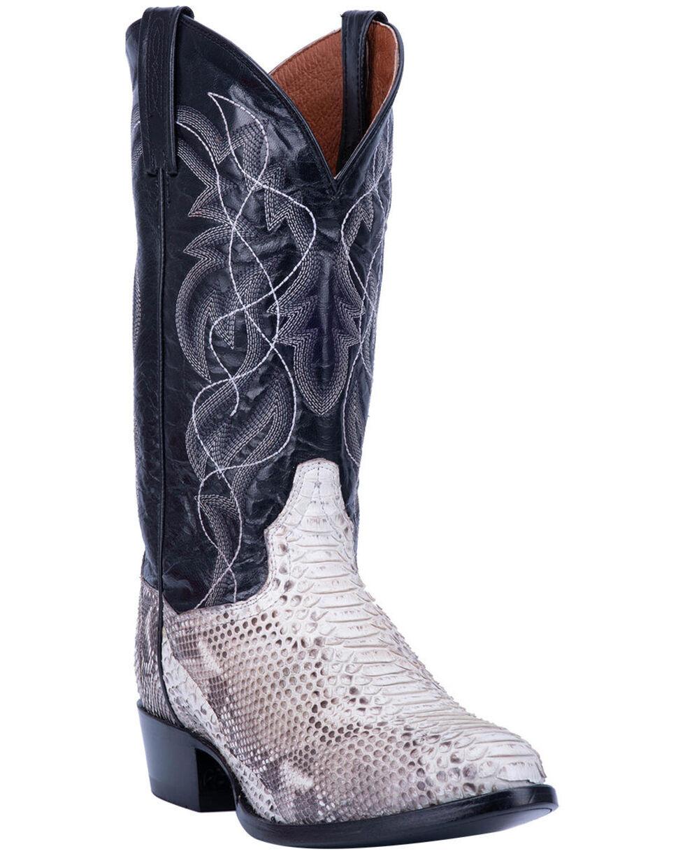 Dan Post Men's Manning Western Boots - Round Toe, Python, hi-res