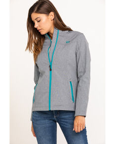 Shyanne Life Women's Light Grey Softshell Jacket, Light Grey, hi-res