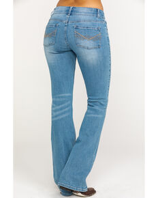 Idyllwind Women's Double Time Boot Cut Jeans , Blue, hi-res
