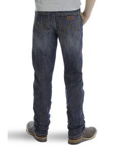 Wrangler Retro Boys' 1-7 Travis Slim Straight Jeans , Blue, hi-res