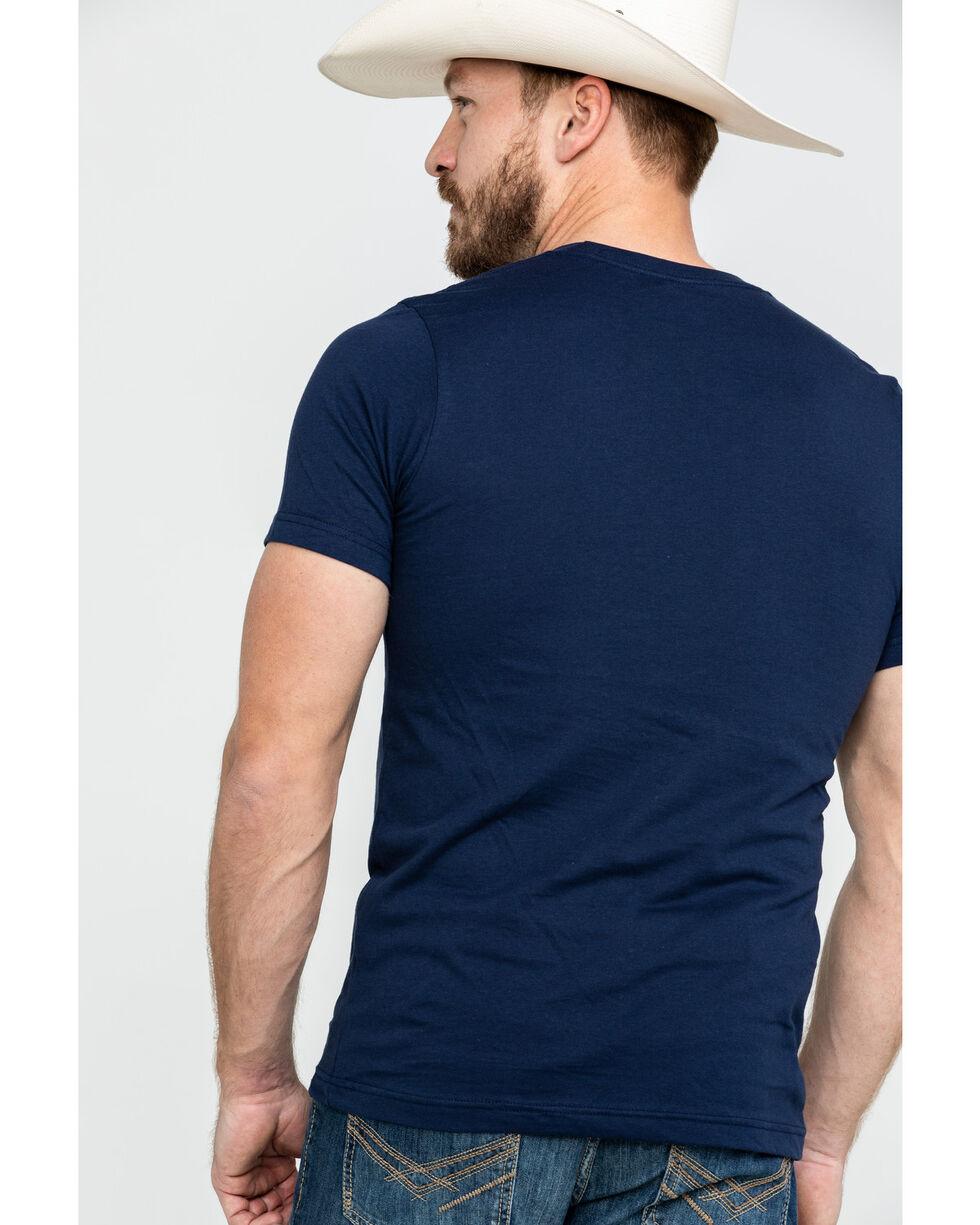 Bullseye Ventures Men's US Home Graphic T-Shirt , Navy, hi-res