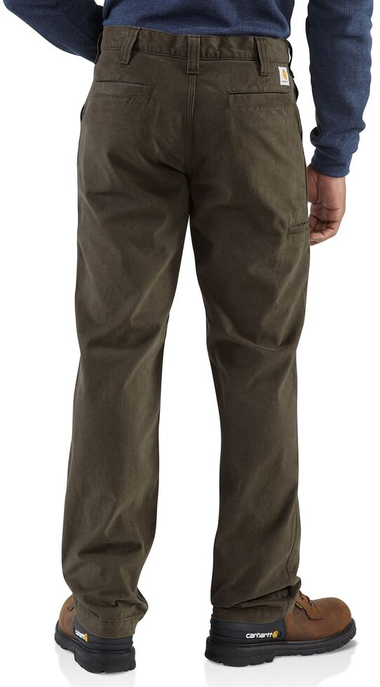 Carhartt Rugged Khaki Work Pants, Coffee, hi-res