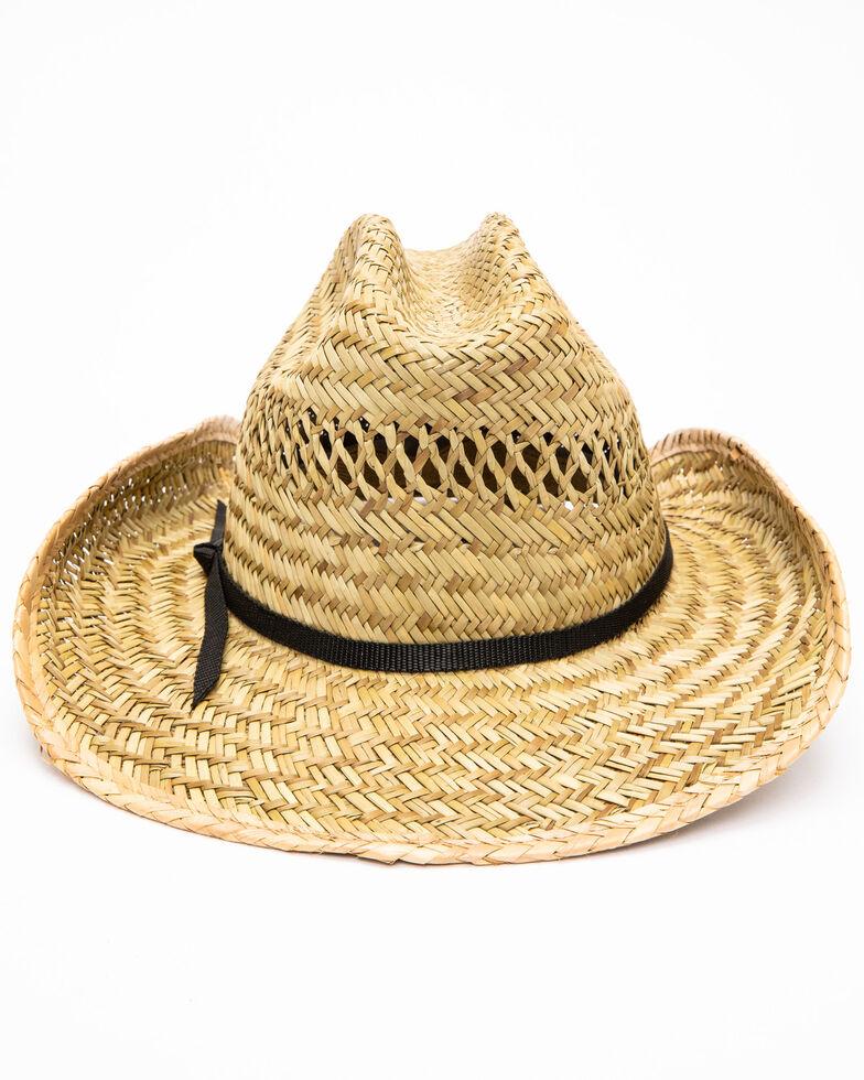 Moonshine Spirit Men's Rush Straw Hat, No Color, hi-res
