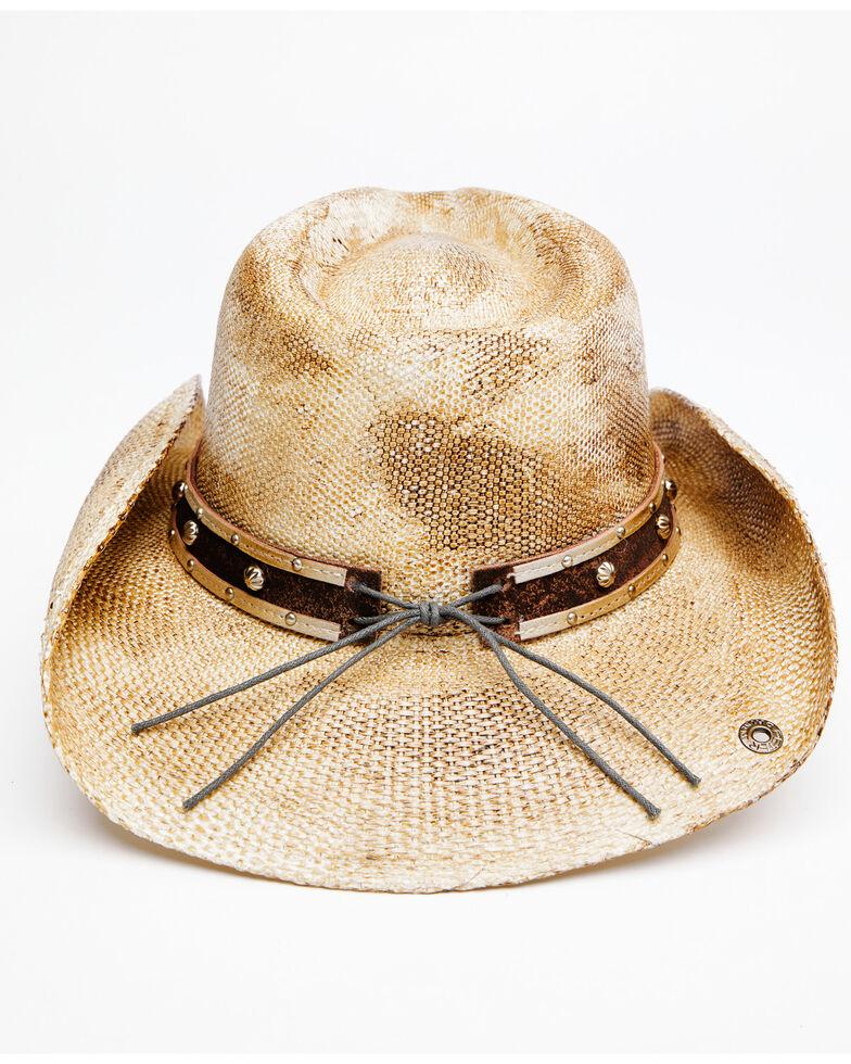 Shyanne Women's Natural O Gori Straw Western Hat , Natural, hi-res