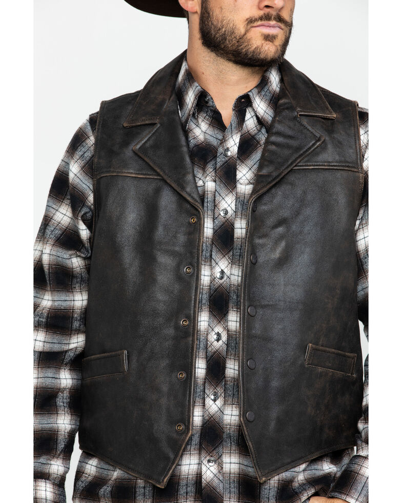 Outback Trading Co. Men's Brown Chief Vest , Brown, hi-res