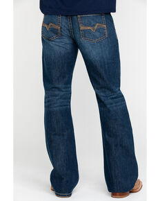 Cody James Men's Desert Rigid Relaxed Boot Jeans , Blue, hi-res