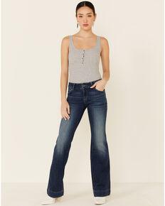 Wrangler Women's Dillon Trouser Jeans, Blue, hi-res