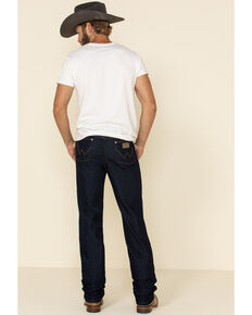 Wrangler Men's Active Flex Prewashed Indigo Slim Cowboy Cut Jeans , Indigo, hi-res