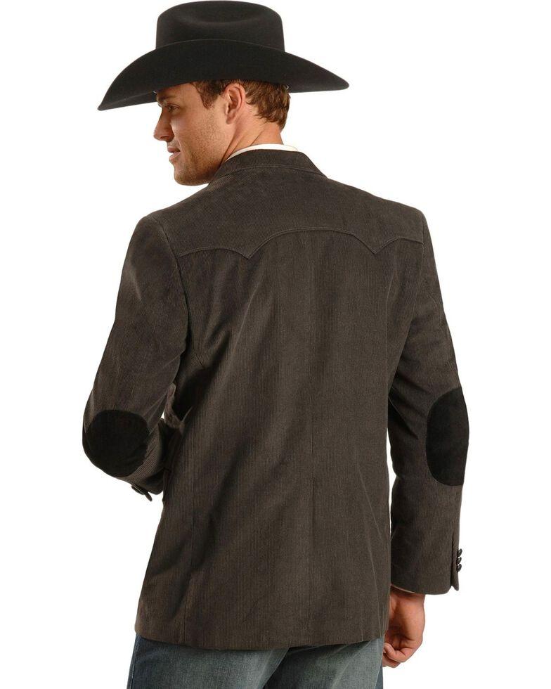 Circle S Corduroy Sport Coat - Big and Tall, Grey, hi-res