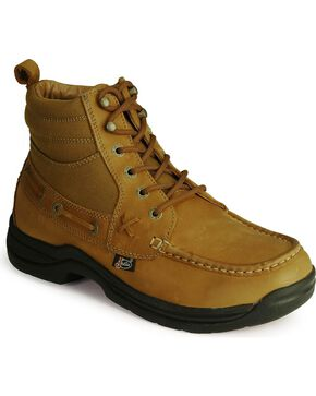 Justin Men's Soronto Casual Lace-Up Boots  , Tan, hi-res