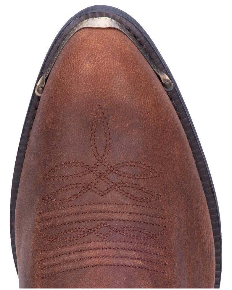 Laredo Men's Harness Strap Western Boots - Medium Toe, Brown, hi-res