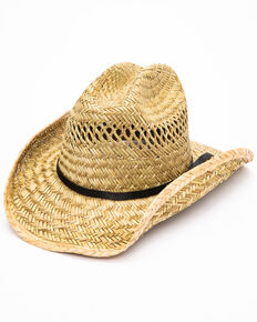 Moonshine Spirit Men's Rush Straw Hat, No Color, hi-res
