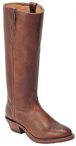 Boulet Shooter Cowboy Boots - Round Toe, Brown, hi-res