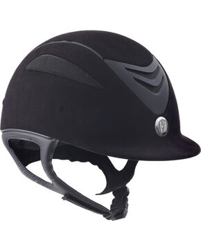 One K Kids' Defender Jr Suede Helmet , Black, hi-res