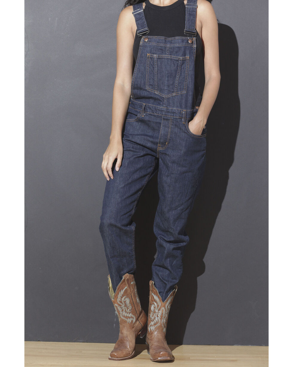 Kimes Ranch Women's Anna Straight Leg Overalls , Blue, hi-res