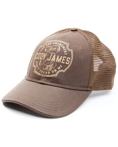 Cody James Men's Burgundy 2nd Amendment Mesh-Back Ball Cap , Burgundy, hi-res