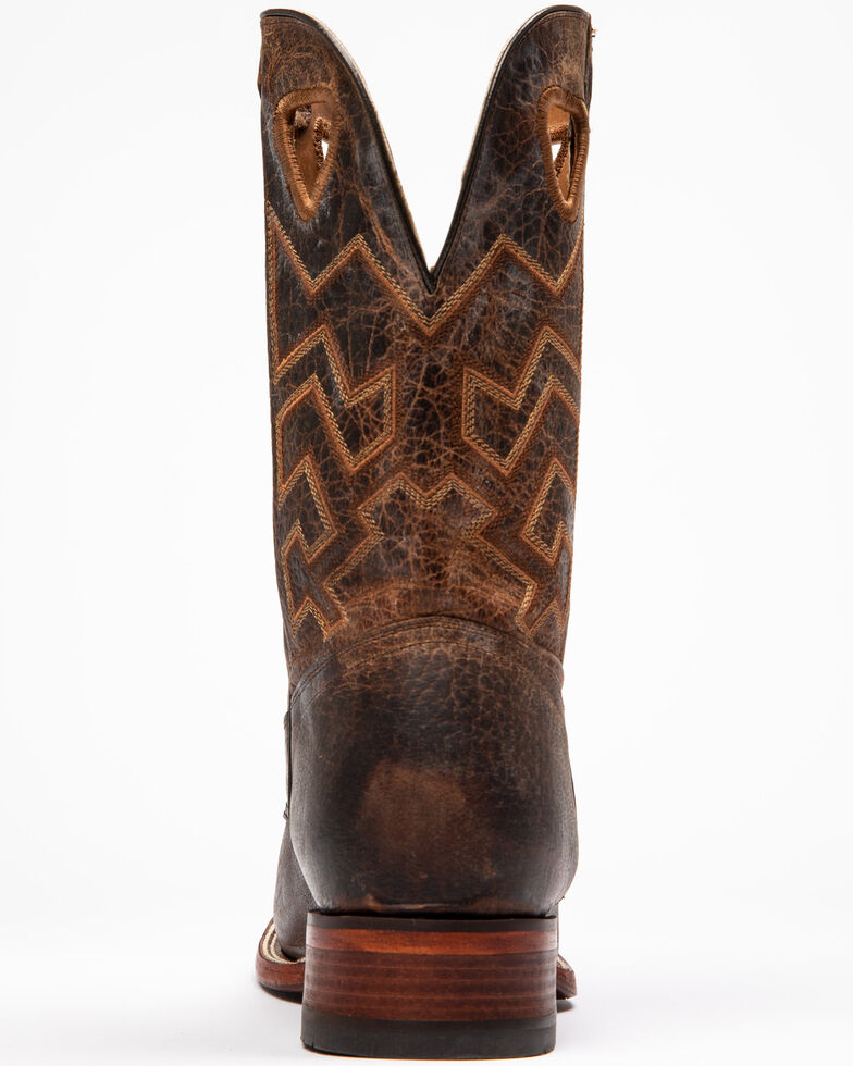 Cody James Men's Brown Western Boots - Square Toe, Brown, hi-res